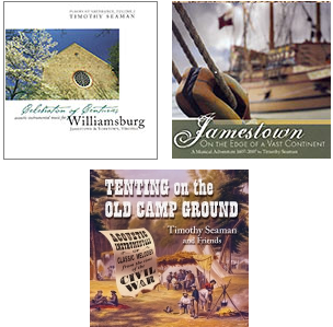 Historic Times and Places 3 CD Set: Celebration of Centuries, Jamestown, Tenting on the Old Camp Ground