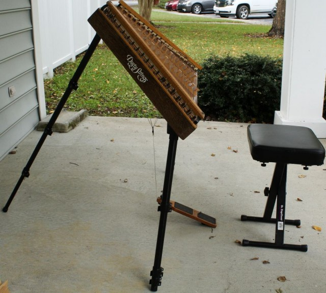 Hammered dulcimer steepness and the gravity effect!