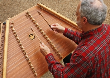 Timothy Seaman on the Hammered Dulcimer