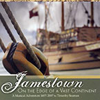Jamestown: On the Edge of a Vast Continent Album Cover
